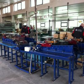 Special machines for held fitter assembly operations under internal assembly