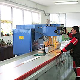 Автоматични линии за високочестотно заваряване на PVC материали