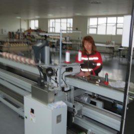 Специализирани машини за окантване и пришиване на кедър