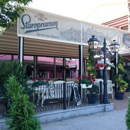Градински ресторант с пергола С120